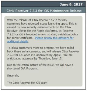 Citrix Receiver 3x Issues Fixed in This Release - oukas info