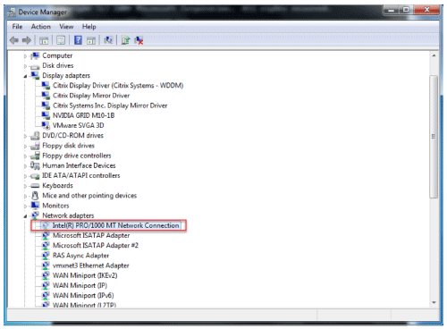 Update VMware tools in PVS environment - step 19
