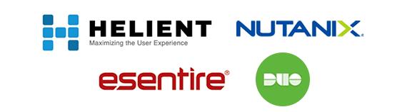 Sponsors - Helient, Nutanix, eSentire & DUO